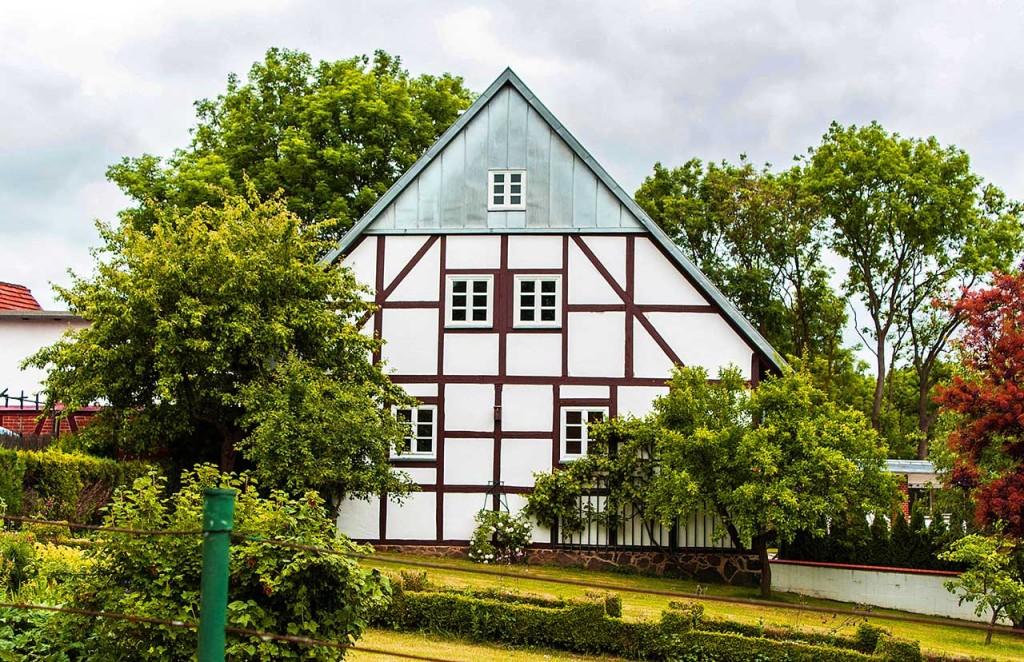 Umbau und Sanierung eines Fachwerkhauses in Gützkow