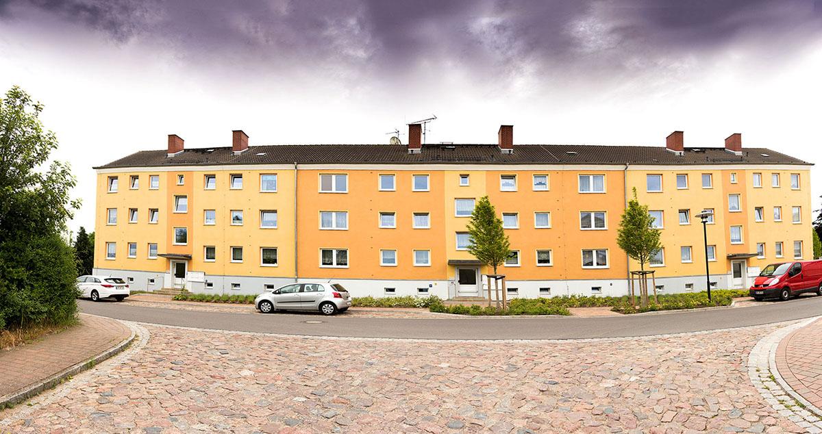 Fassadensanierung mit WDVS in Jarmen, Fabrikstraße