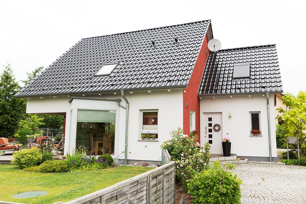 Neubau EFH als Architektenhaus in HGW, Stadtrandsiedlung
