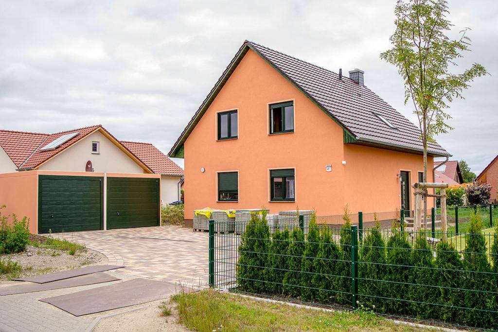 Neubau eines schlüsselfertigen EFH in Greifswald, Selma-Lagerlöf-Str.
