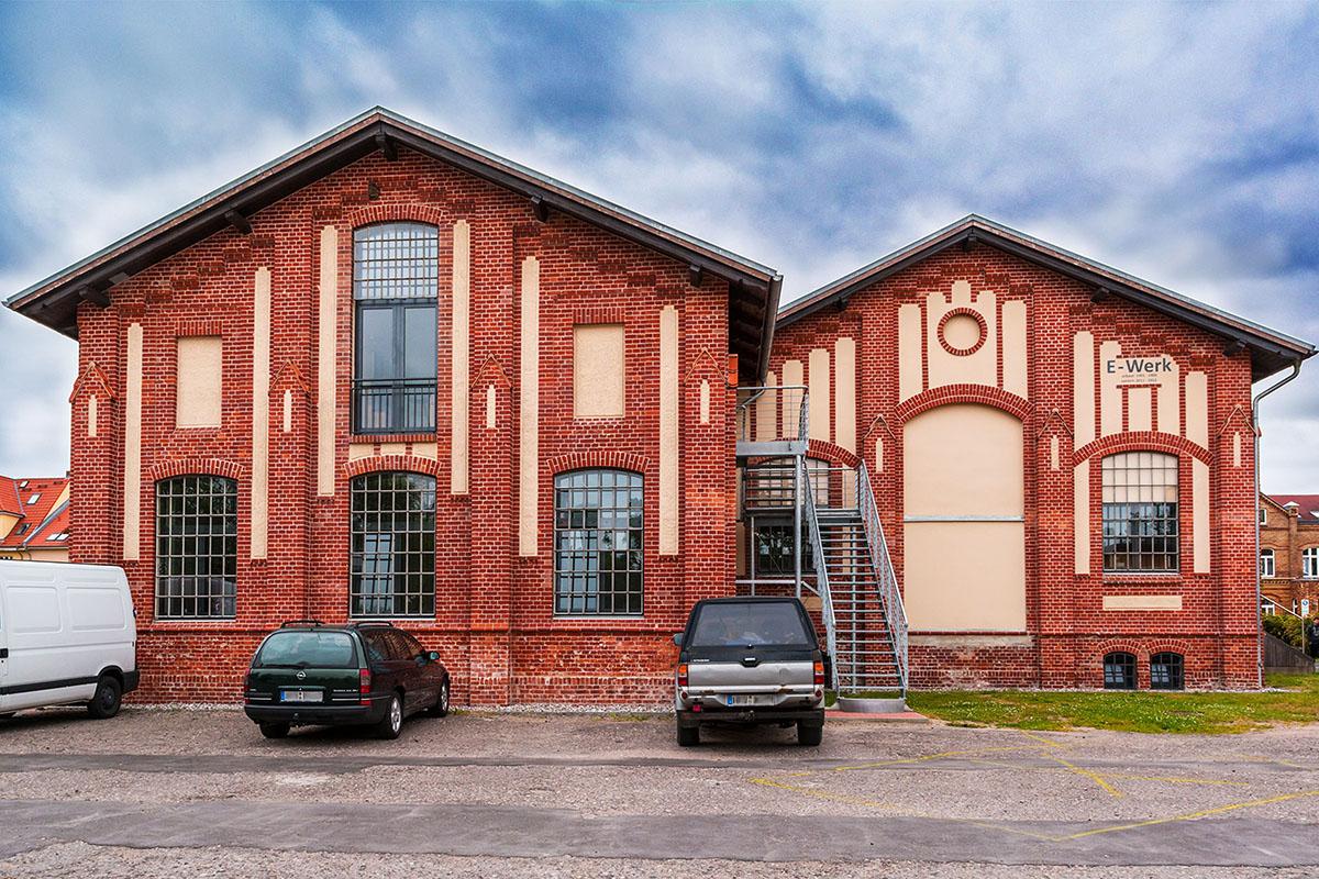 Sanierung altes E-Werk in Greifswald, Marienstraße