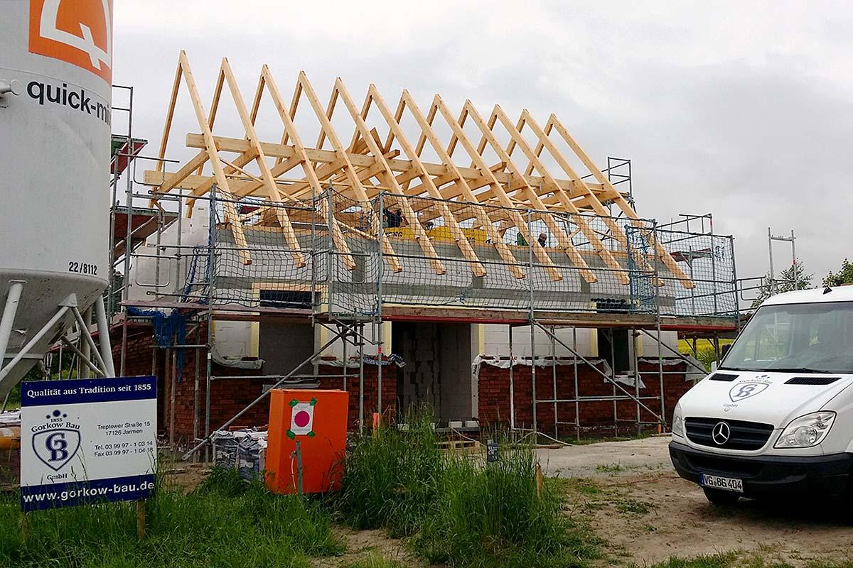 Bauunternehmen Wismar unsere häuser gorkow bau gmbh
