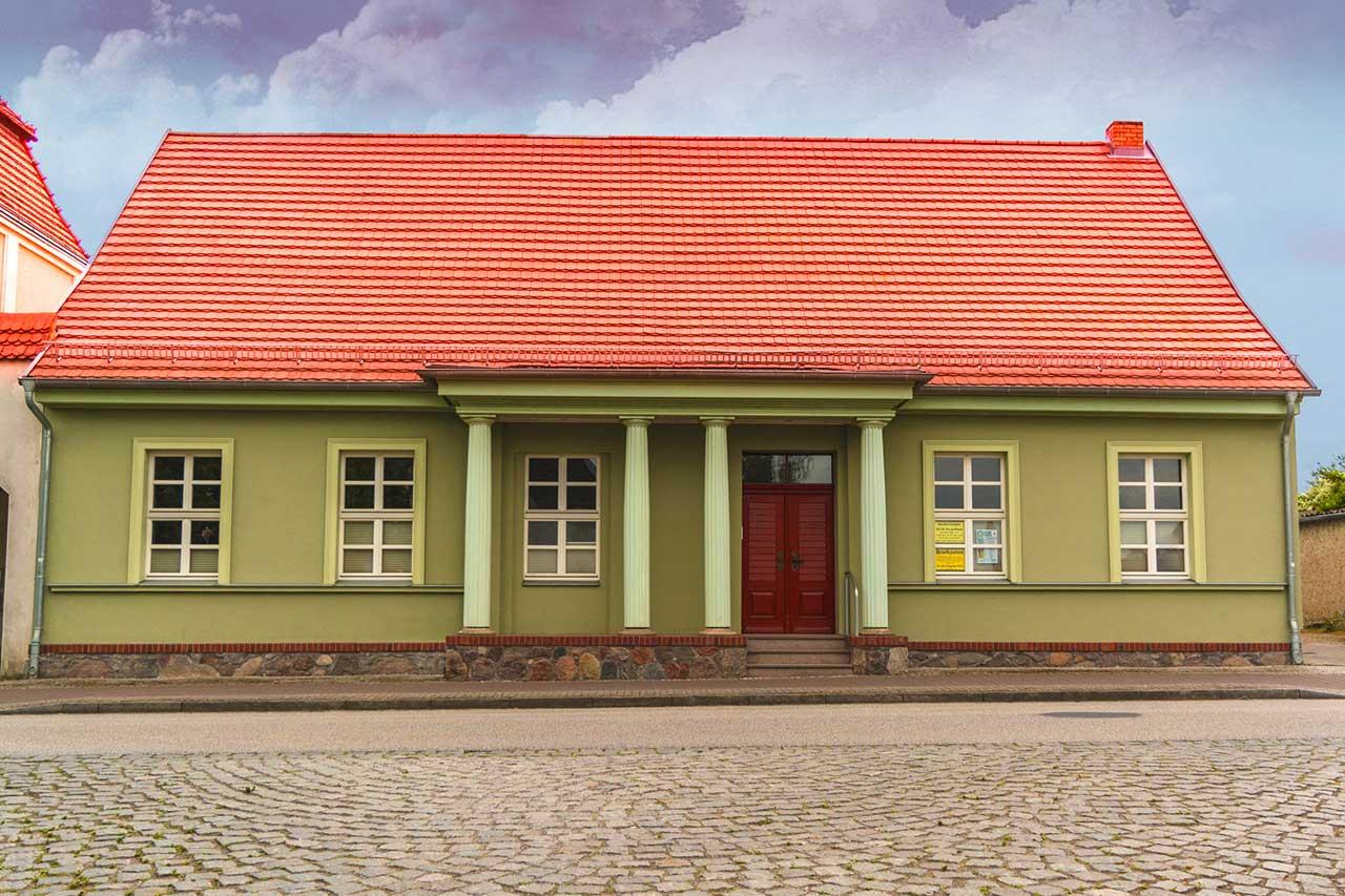 Sanierung Pfarrhaus der Stadt Jarmen