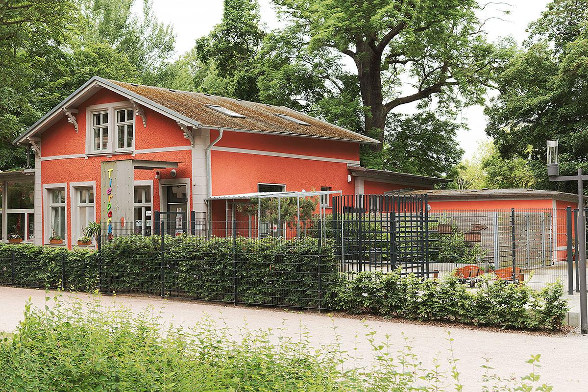 Sanierung und Umbau Café im Tierpark Greifswald