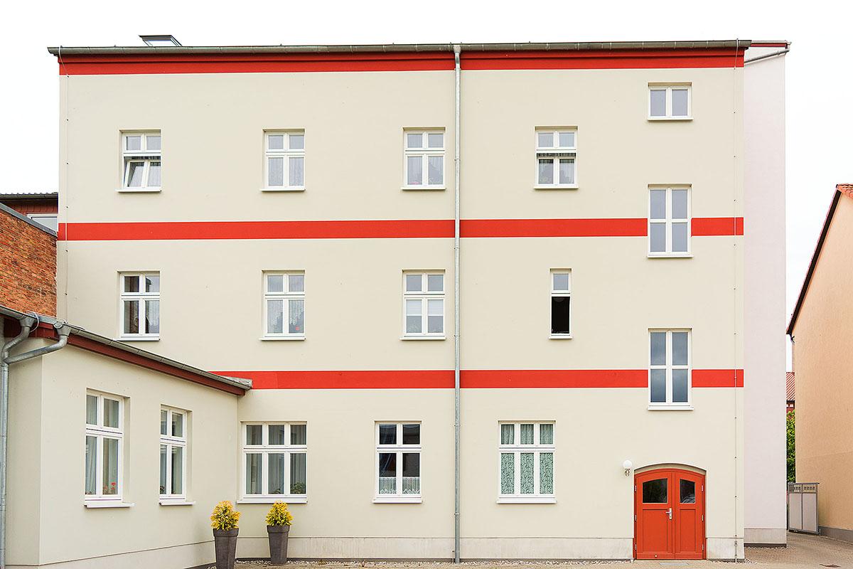 Sanierung und Umbau zur Seniorenresidenz alte Post in Jarmen